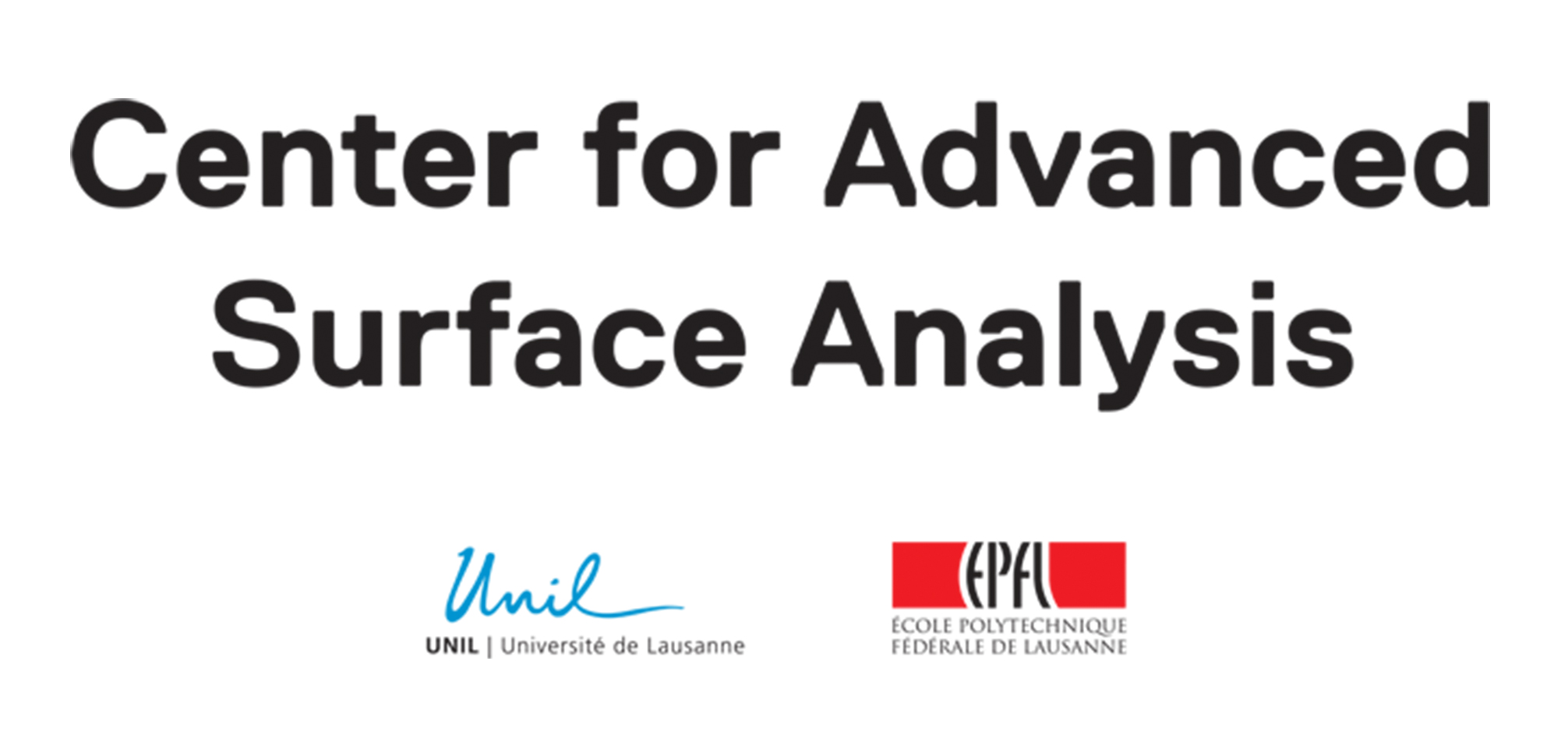 Logo of Center of Advanced Surface Analysis